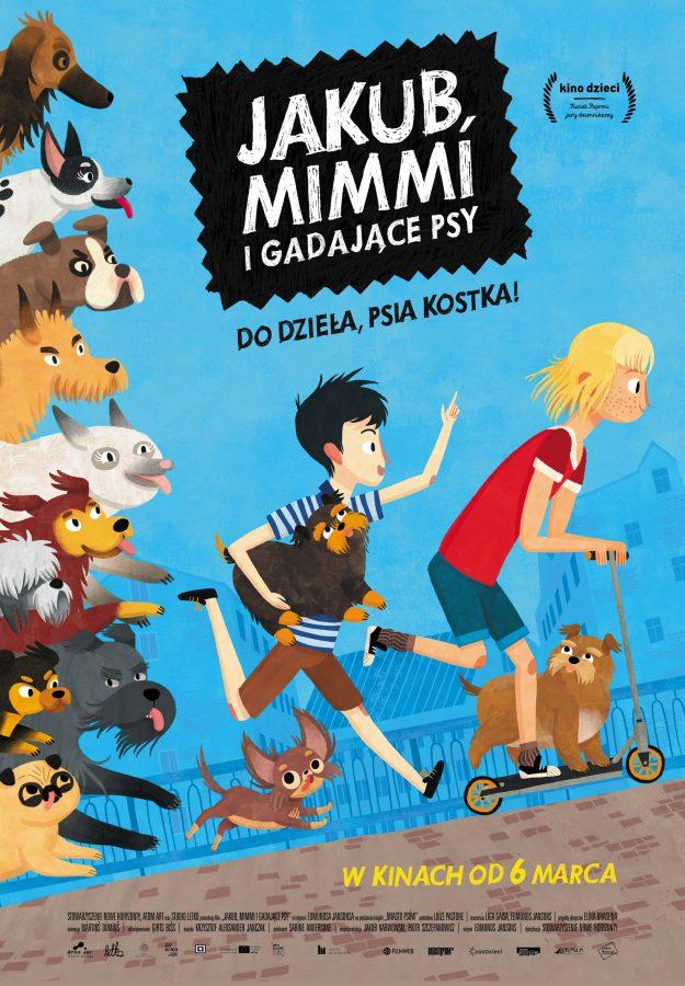 plakat reklamujący film Jakub Mimmi...