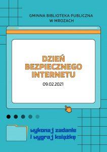 plakat bezpieczny internet